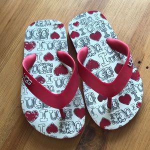UGG flip flops size 8